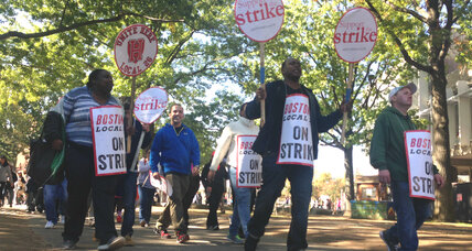 First strike in 33 years: Why Harvard's food service workers walked out