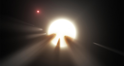 Alien 'megastructure'? Mysteriously dimming star puzzles scientists.