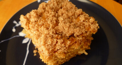 Autumn dessert: cinnamon sugar apple cake