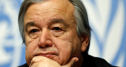 Why the new UN head faces high expectations on refugee crisis