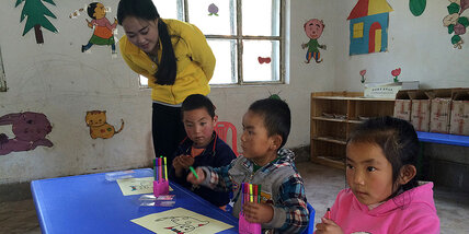 In China's remote villages, a classroom for the youngest and poorest