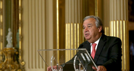 UN Security Council formally nominates Guterres