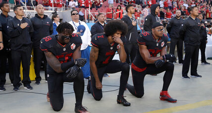 Are national anthem protests hurting the NFL TV ratings?
