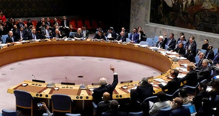 UN Security Council deadlocked on Syria