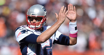 Brady back after suspension amidst cheers