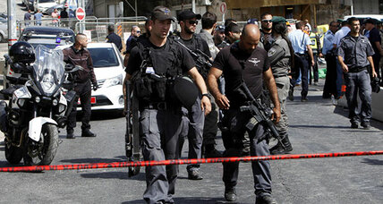 Palestinian militant kills 2 in Jerusalem drive-by