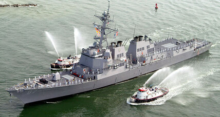 Did Yemeni rebels just fire on a US warship?
