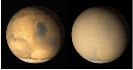 Is Mars about to be enshrouded by a global dust storm?