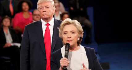 TV audience sharply down for second Trump-Clinton debate, despite tape furor