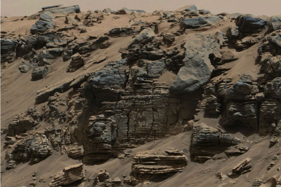 Was this gully on Mars carved by water? NASA rover to investigate.
