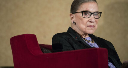 Is Ruth Bader Ginsburg's slam on Colin Kaepernick out of character?
