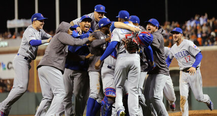 Cubs slay Giants and will now face 'the curse' in NLCS
