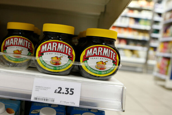 marmite shortage why brexit just got real for britons. Black Bedroom Furniture Sets. Home Design Ideas
