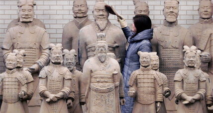 Did ancient Greeks help build China's Terracotta Army?