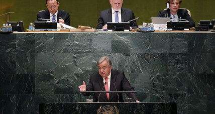 In new UN chief, redefining what's needed to be world's 'top diplomat'