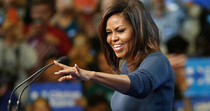 Has Michelle Obama's N.H. speech set a new bar for influential first ladies?
