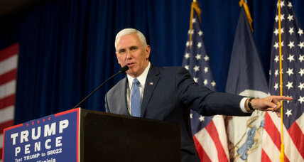 Did Mike Pence engage in voter suppression in Indiana?