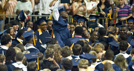 How high school graduations reached a record rate