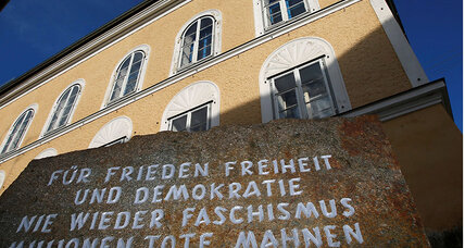 Austrian government to demolish house where Hitler was born