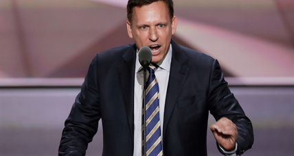 Should Peter Thiel be fired for backing Trump?