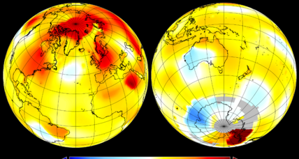 NASA names September hottest on record, just barely