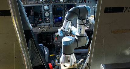 Amid shortage of trained pilots, Pentagon looks to robot co-pilots