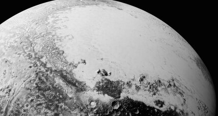 Are those clouds scientists are seeing on Pluto?