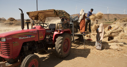 In India, farmers can now hail a tractor with an Uber-like app