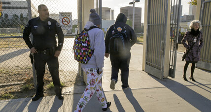 Are teachers ceding too much discipline to in-school police officers?