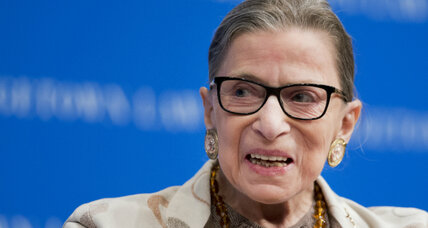 Ruth Bader Ginsburg prepares for her operatic debut