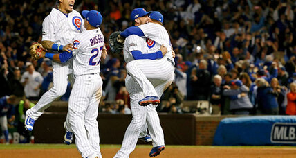The 'curse' is broken: Cubs headed to first World Series in 71 years