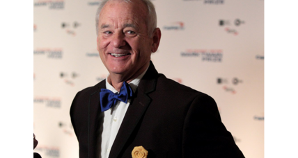 Bill Murray's response to Mark Twain Prize: A message of love