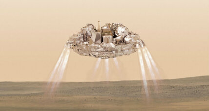 Did software glitch doom the European Mars lander? (+video)