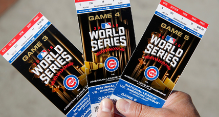 Want to see World Series 2016? Prepare to pay – really big.