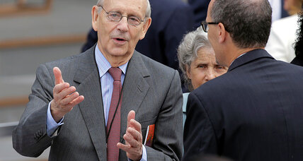 Does the Supreme Court need a ninth justice? Not by November, says Breyer.