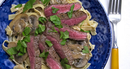 Beef stroganoff with a modern upgrade