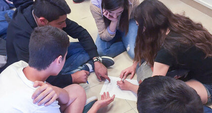 Jewish and Palestinian-Israeli teens learn to collaborate