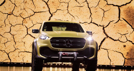 Mercedes makes a pickup truck