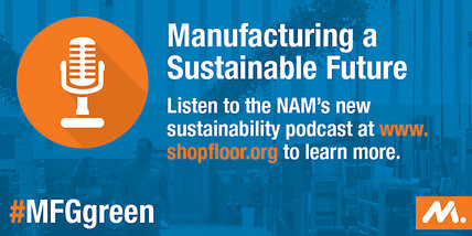 Podcast: Manufacturing a sustainable future