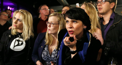 Iceland's Pirate Party wins seats, but stops short of taking country's helm