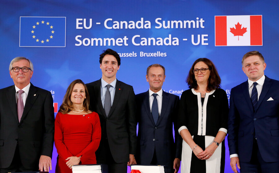 Eu Canada Sign Free Trade Deal But Battle Not Over Csmonitor