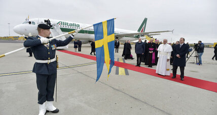 Pope Francis visits Sweden to mend a nearly 500-year-old schism