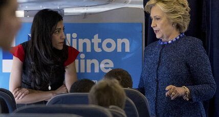 Why Clinton is sticking with Huma Abedin