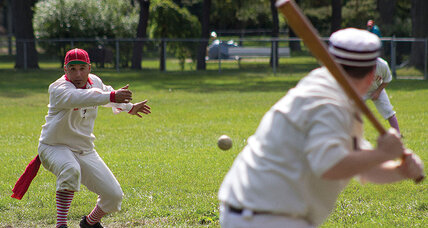 Baseball fans return to sport's roots