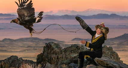 'The Eagle Huntress' is too slick but heroine triumphs over movie's excesses
