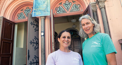 A daytime refuge for homeless people: the duo behind the pioneering effort