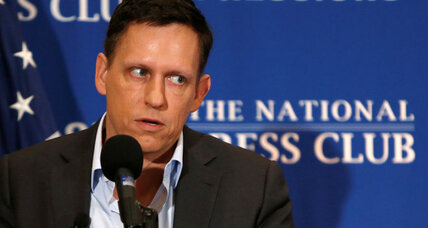 Why Peter Thiel thinks Silicon Valley is out of touch with America
