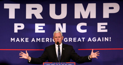 Vying for swing-state voters, Pence pushes space program in Florida