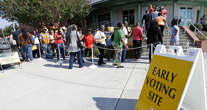 How early voting has become so politicized this election