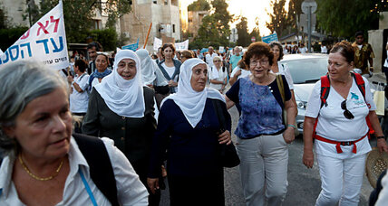 In deeply divided Israel, Jewish and Arab women build case for peace
